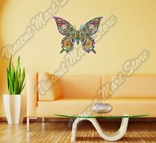 "Butterfly Abstract Art Design Colorful Wall Sticker Room Interior Decor 22""X22"""
