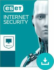 ESET Internet Security For Windows 1 Device 3 Years OEM Product Key Card