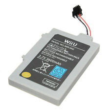 Original&Strong 3600mAh 3.7V Rechargeable Battery for Nintendo Wii U Gamepad New
