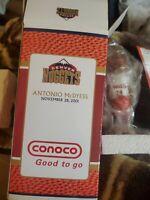 NIB 2001 Antonio McDyess Denver Nuggets Legends Bobblehead NBA, Conoco Rare HTF!