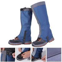 Outdoor Climbing Hiking Snow Ski Shoe Leg Cover Boot Legging Gaiters  Waterproof