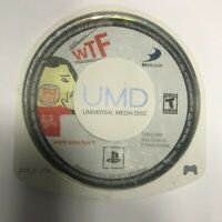 WTF Work Time Fun PSP UMD Only Playstation Portable Sony