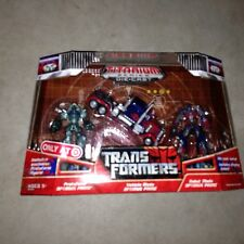 Transformers Titanium 3 Inch Size Optimus Prime 3 Pack Movie 2007 New
