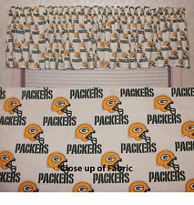 New NFL Green Bay Packers Football Valance Curtains