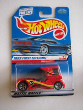 Hot Wheels 1999 FIRST EDITIONS SEMI FAST 8/26 CARS RED/RED