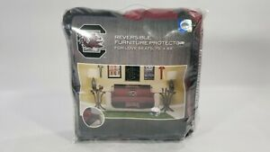 SC Gamecocks Football Quilted Sofa Love Seat Cover Slipcover Couch Protector