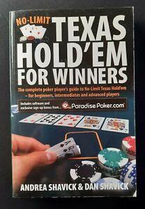 No-Limit Texas Hold'em For Winners Shavick Poker Book
