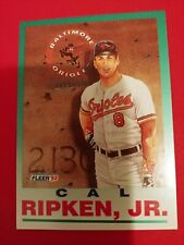 1992 Fleer Cal Ripken #711 Baltimore Orioles HALL OF FAME
