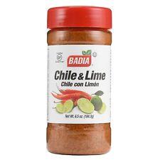 BADIA CHILE & LIME Seasoning, 6.5 Oz - Pack of Six Bottles