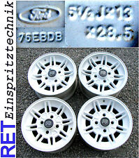 Alufelgen Satz 4 Stück 5,5x13 ET 28,5 Ford Capri Escort Taunus 76EBDB