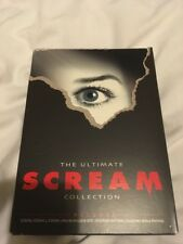 WES CRAVEN'S ULTIMATE SCREAM COLLECTION LIMITED 4 DVD SET! OOP REGION 1