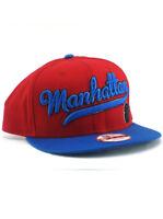 New Era Spider-Man 9fifty Snapback Hat Manhattan Adjustable Marvel Heroes Red
