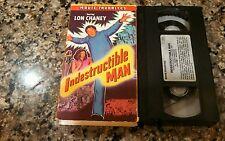 INDESTRUCTABLE MAN VHS! 1956 Executed Killer! Horror Show Shocker Scream 3 House