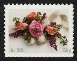 #5458 Corsage, Mint **ANY 4=FREE SHIPPING**