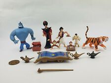 Vintage Disney Mattel Figure lot 1992 Aladdin Figures And Related Items