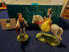 """WDCC Snow White and Prince """"And Away to His Castle We'll Go"""" Original Box w/COA"""