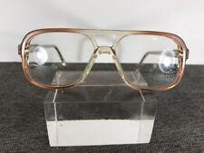 Luxottica Kids Eyeglasses 50-15-130 Taupe Italy Avant Garde Teen B476
