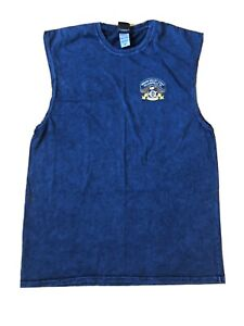 Indian Valley Chapter HARLEY DAVIDSON Navy Blue Tank Top- XL