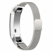 Fitbit Alta and Alta HR Milanese Stainless Replacement Band (Silver)