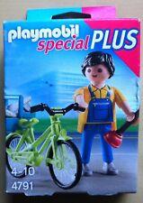 PLAYMOBIL Marivela mit Fahrrad 70124 blau