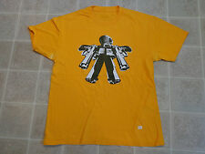 UNKL Gun Robot T-SHIRT Mens MED Toy Figure Rare OOP Print Limited 9mm Pistol