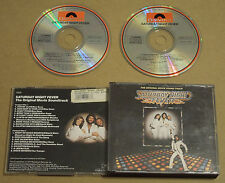 SATURDAY NIGHT FEVER Soundtrack 70s Polydor Early Pressing 2CD Set Bee Gees 1977