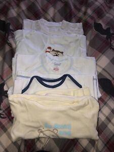 Baby Boy Bundle Of Tshirt Tops 3-6 Months