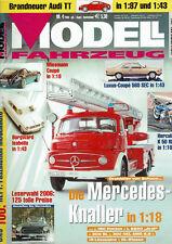 Modell Fahrzeug 4/2006 Die Mercedes - Knaller 1:18