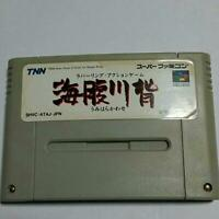 Super Famicom Umihara Kawase Nintendo Japan Game Soft Import SNES SFC F/S Used