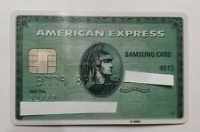 korea expired amex american express credit card