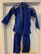 Tatami Fightwear Estilo Junior Blue & White