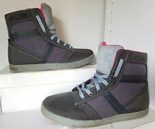 DC Shoes Admiral TXSE  Slate Gray Hi Top Skate Shoe Men US 8