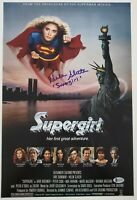 Helen Slater Signed Supergirl 12x18 Movie Poster DC Comics Rare Autograph BAS