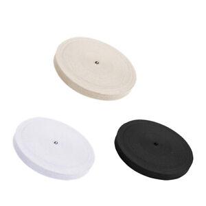 Cotton Herringbone Apron Tape 10mm Sewing Webbing Bunting Strap Twill Webbing JN