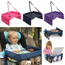 Baby Child Car Safety Seat Snack Play Tray Lap Table Portable Kids Travel Pop