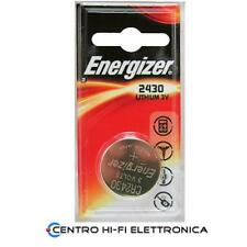 Batteria CR2430 Energizer Pila Litio 3V - DL2430 K2430L CR2430 data 3-2022