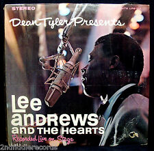 LEE ANDREWS & THE HEARTS LIVE-Near Mint Album-LOST NITE #LPS113-Still In Shrink!