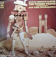 THE WOODEN PRINCE Complete Ballet LP - Boulez conducts Bartok