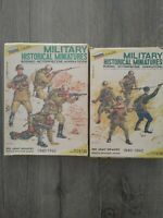 Red Army Infantry 1940/42 Kit No 1 and No 2  1/35 Scale Kits bundle