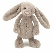 Jellycat Small Bashful Beige Bunny Rabbit 7 BASS6B Suitable From Birth Baby Safe