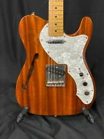 1985 Fender Telecaster '69 Reissue - Thinline MIJ Japan Electric Guitar w/OHSC