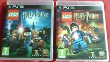 Lego Harry Potter 1-4 años y 5-7 años ps3 PAL
