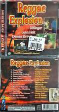 REGGAE EXPLOSION BROWN HOLT DILLINGER CD SEALED SIGILLATO