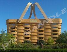 Ohio - LONGABERGER Building - Travel Souvenir Flexible Fridge MAGNET