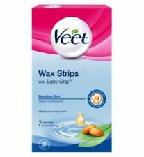 Veet wax strips ready-to-use for under arm & bikini 16 Pack