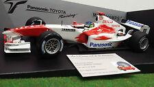 F1 TOYOTA PANASONIC TF104 de 2004 DA MATTA au 1/18 MINICHAMPS 100040016 formule1