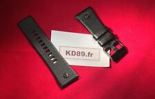 Dz 7193 Bracelet noir cuir Strap Band Avec Boucle Diesel