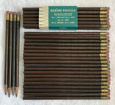 DIXON PENCILS 720 No 2 Vtg Lot of 35 Unsharpened & Sharpened