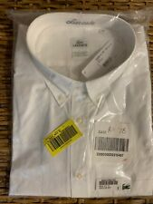 $115 Lacoste Men's Dress Shirt 3XL Cotton Long Sleeve New in Package with tags