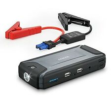 Anker Compact Car Jump Starter & Portable Charger with Built-In LED Flashlight